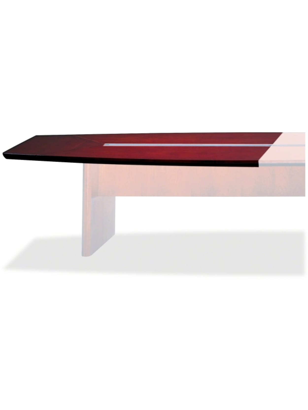 "Mayline Corsica Conference Tables Starter Tabletop - 4"" Table Top Length x  4"" Table Top Width x 4"" Table Top Thickness - Assembly Required -"