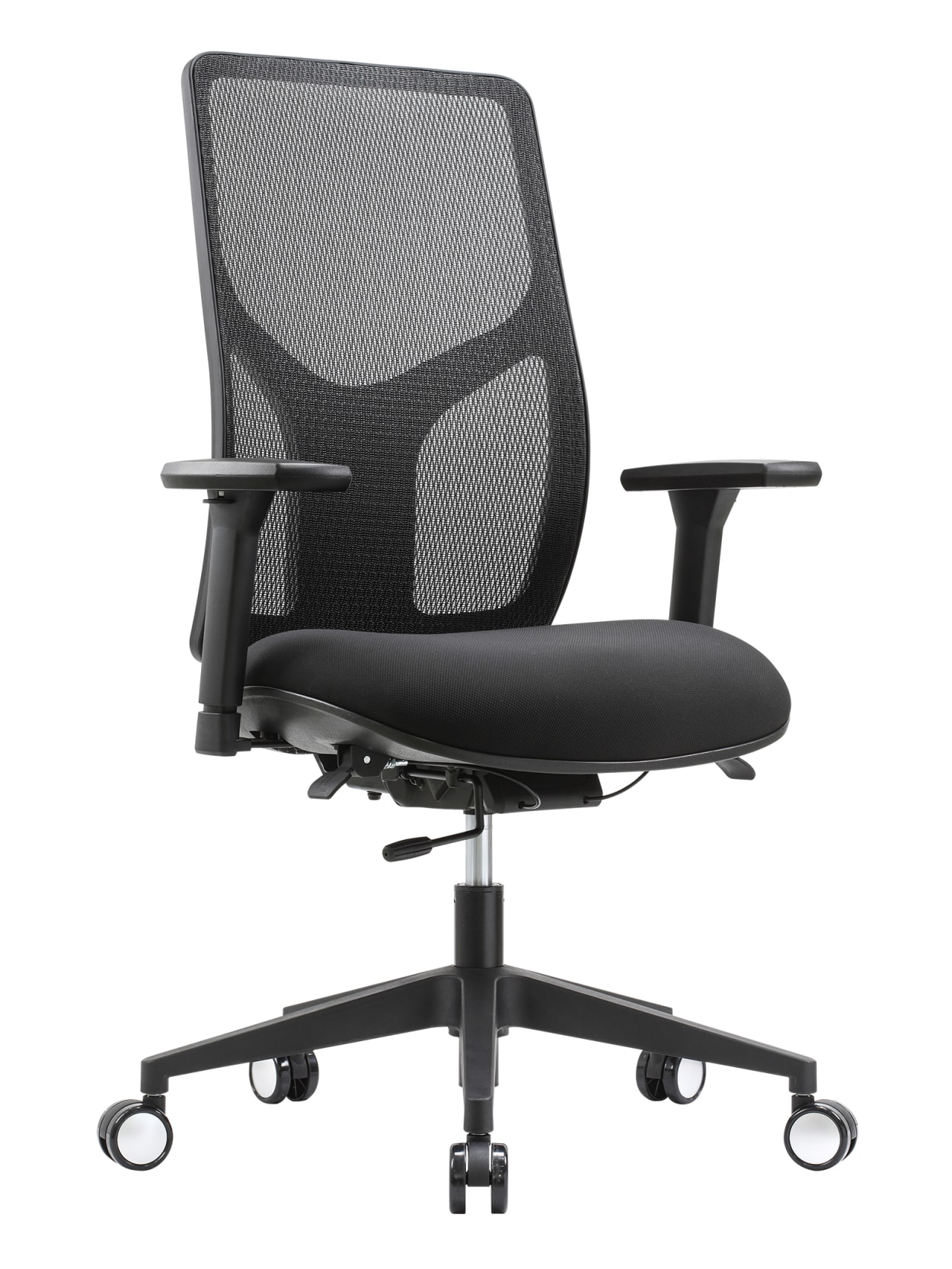 Workpro 4000 Multifunction Chair Black Office Depot