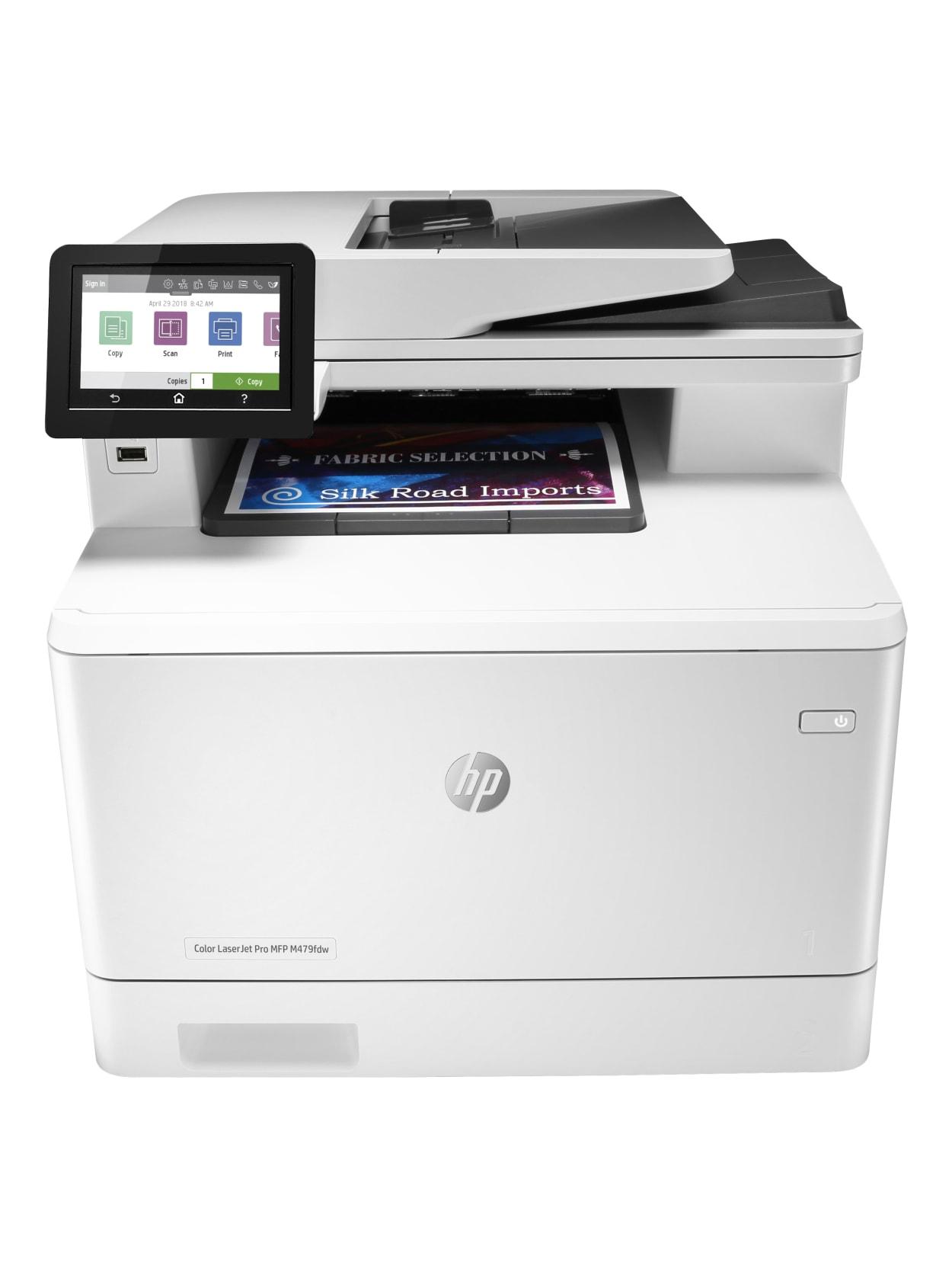 Hp Color Laserjet Pro Mfp M479fdw Printer Office Depot