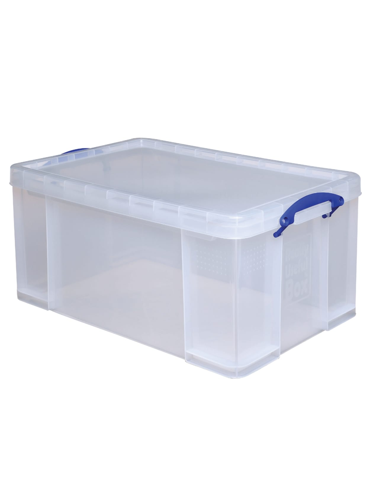 Really Useful Box Plastic Storage Box Clear Office Depot