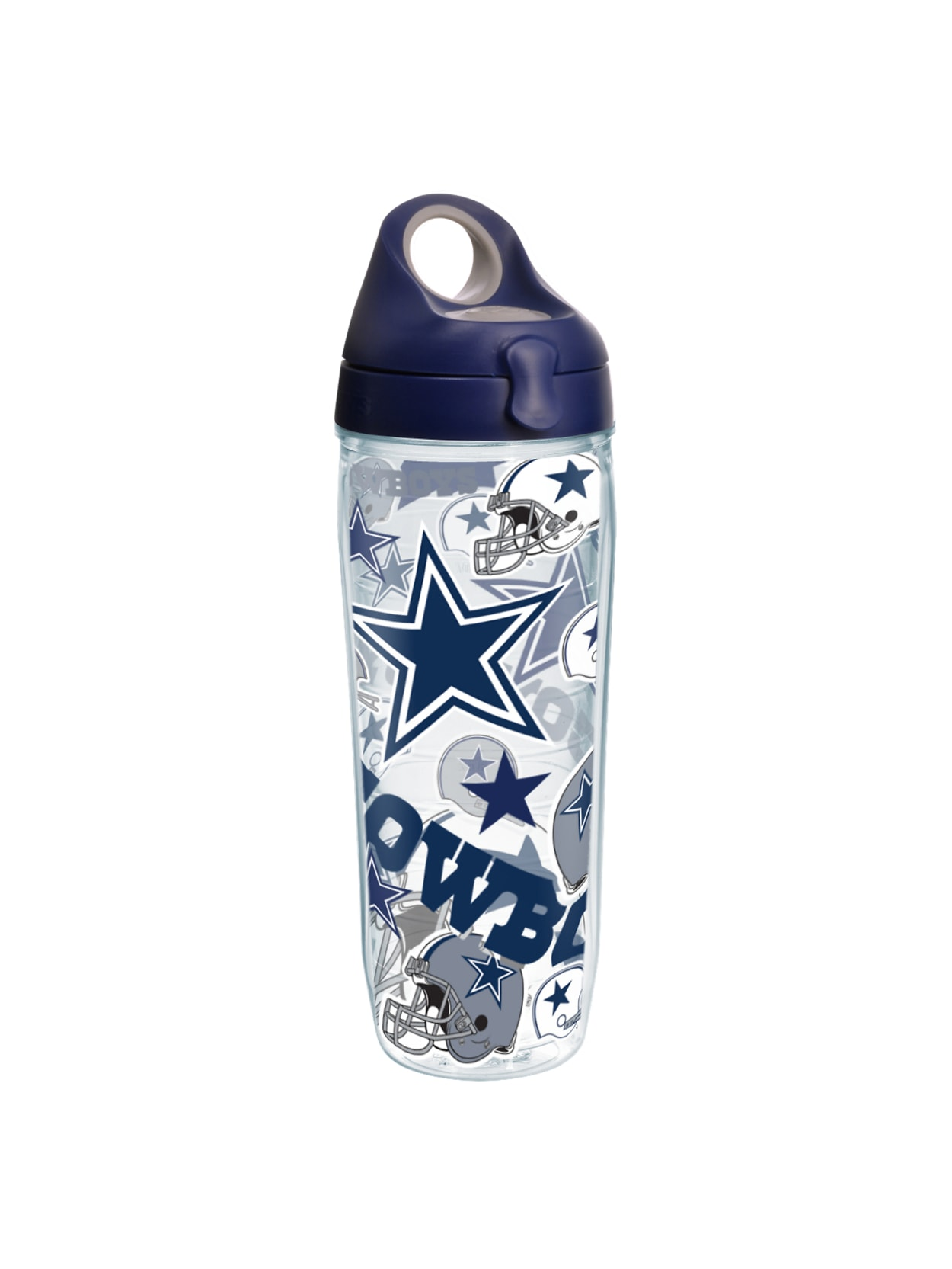 Tervis Nfl All Over Water Bottle With Lid 24 Oz Dallas Cowboys Office Depot