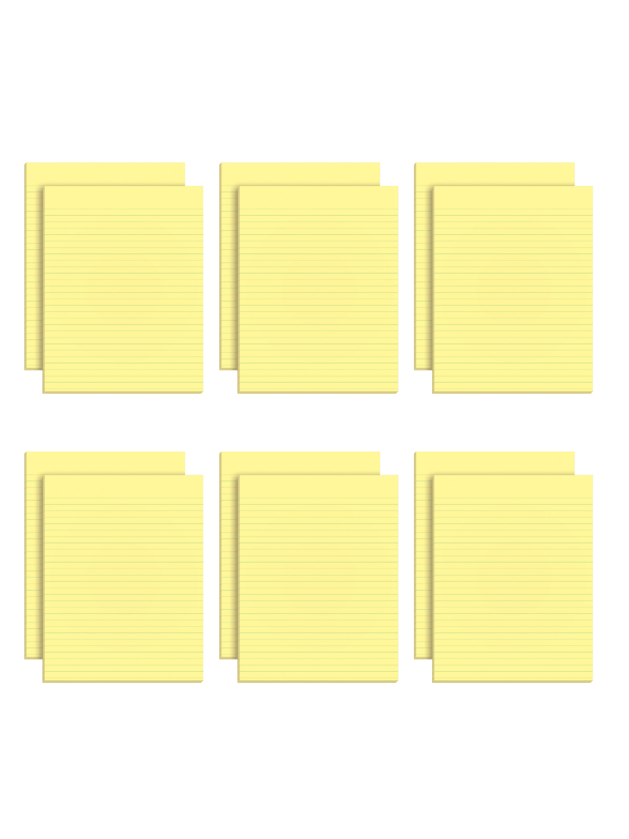 TOPS The Legal Pad Glue Top Writing Pads 36 36 x 36 Narrow Ruled 36