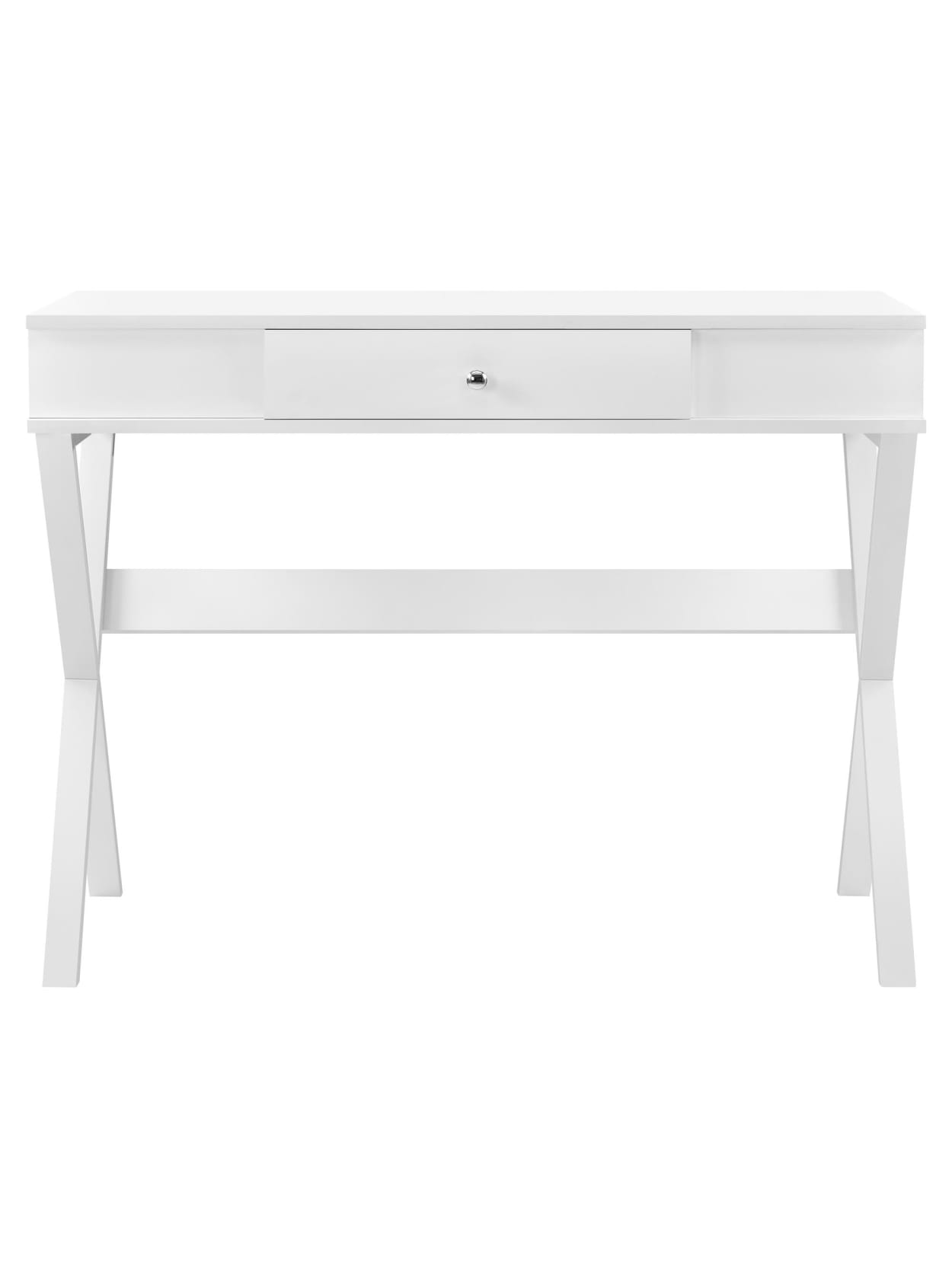 Ameriwood Home Paxton Campaign Desk White - Office Depot