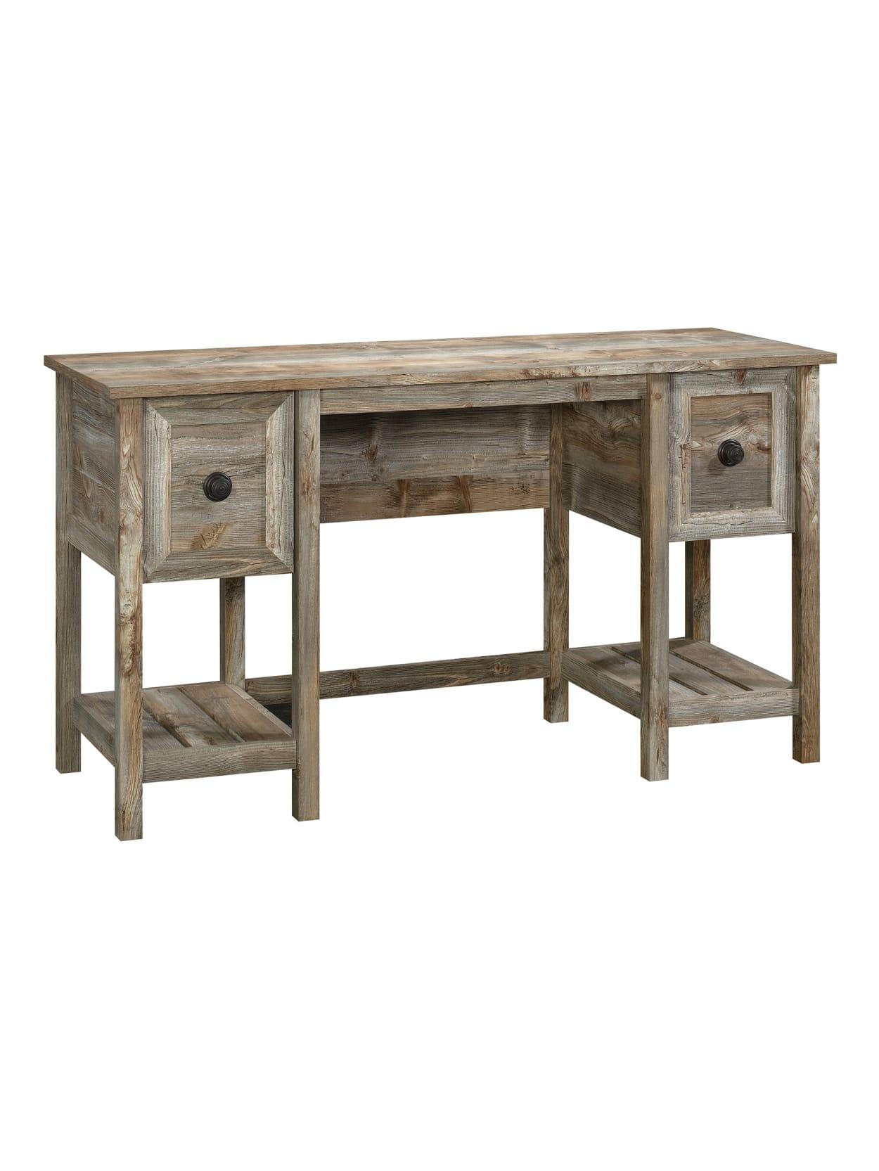 Sauder Granite Trace 54 W Home Office Desk Rustic Cedar Office Depot