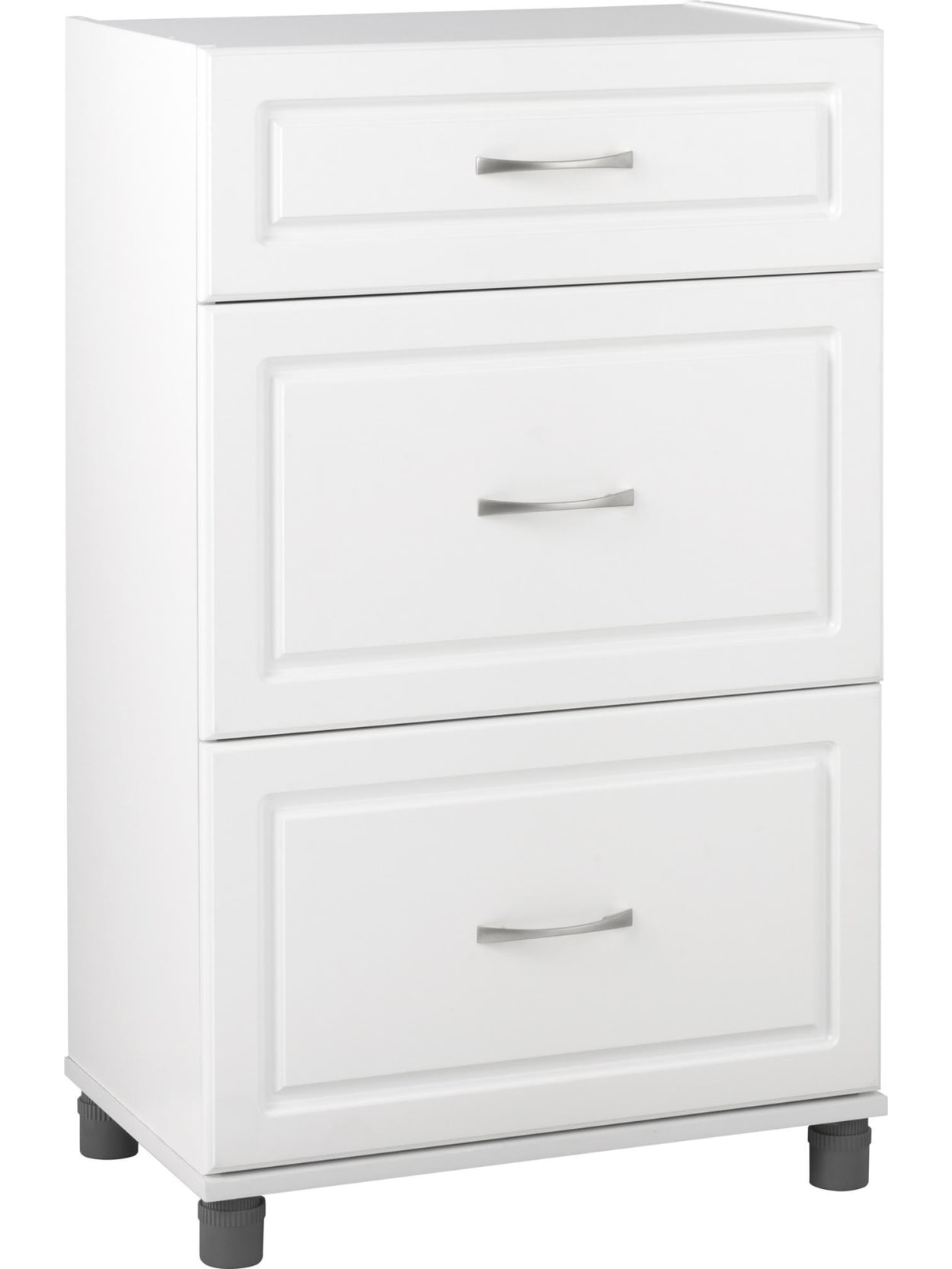 Base Storage Cabinet 3 Drawers White