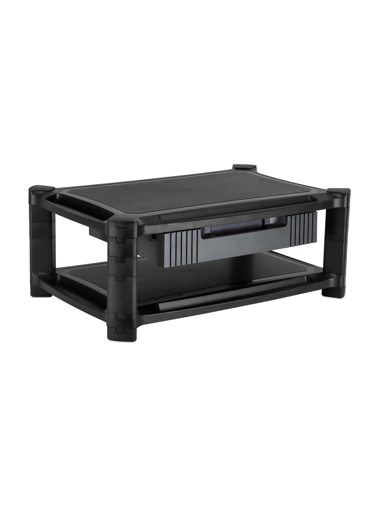 Mount It Mi 7853 Desktop Printer Stand Black Office Depot