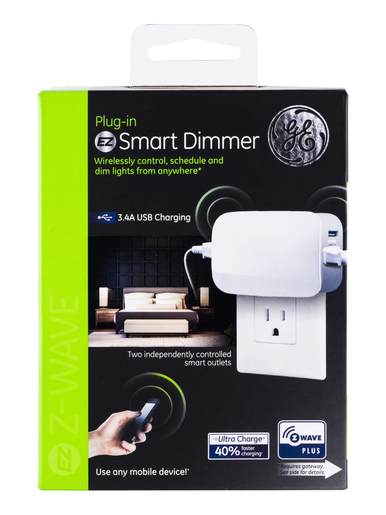 GE Enbrighten Z-Wave Smart Dimmer Outlet