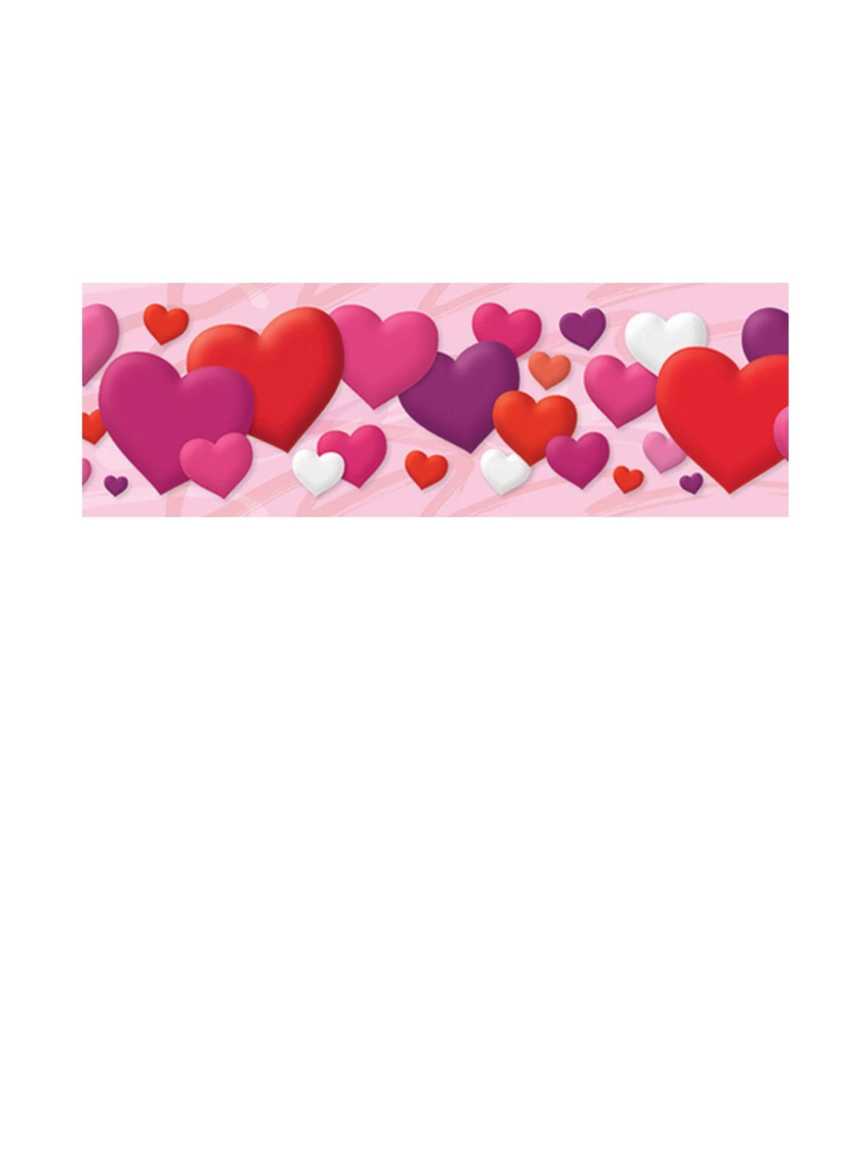Trend Bolder Borders Bulletin Board Borders 2 34 X 35 34 Hearts Grades Pre K 4 Pack Of 11 Office Depot