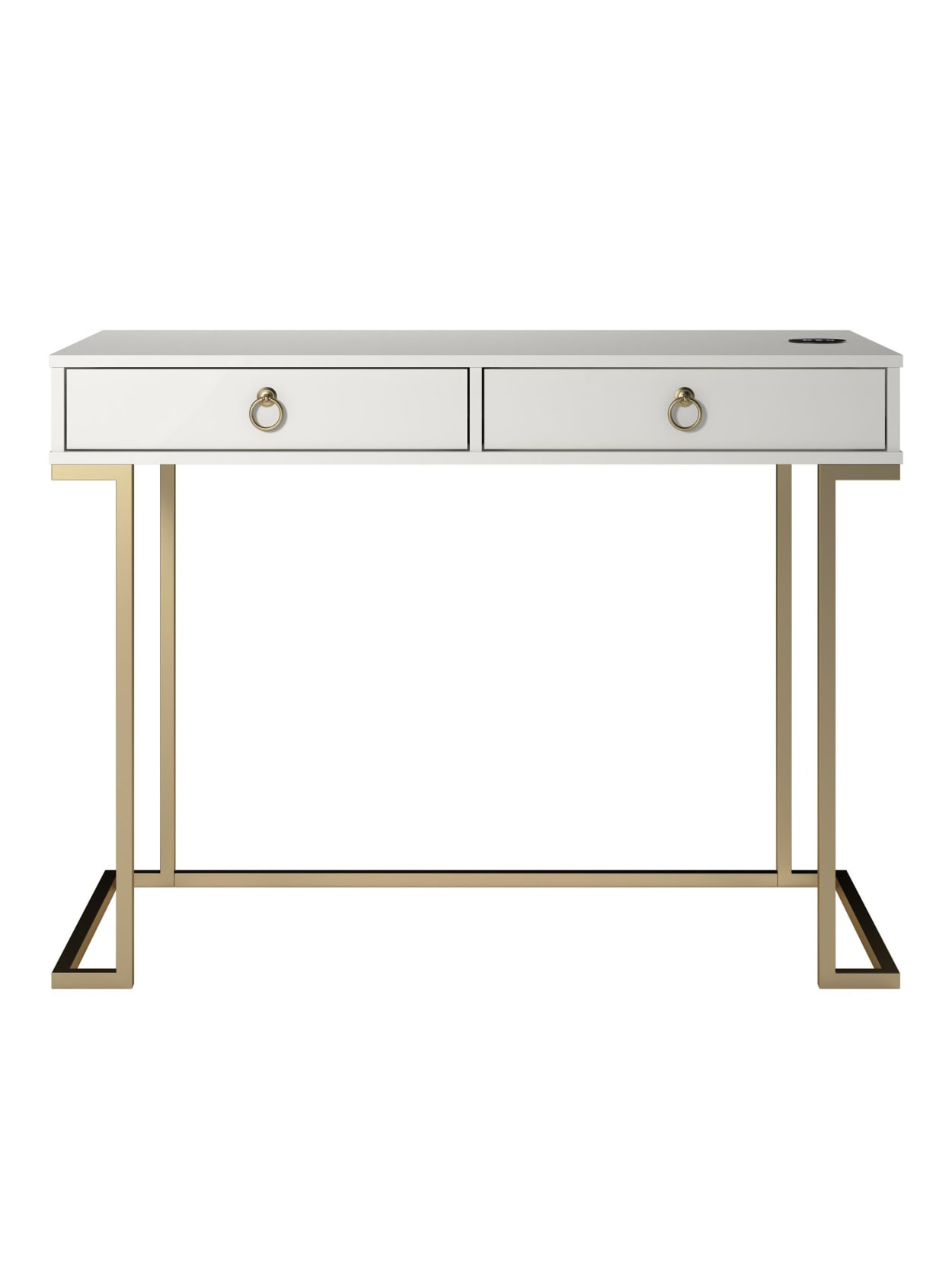 Ameriwood Home Serenity Writing Desk White Office Depot
