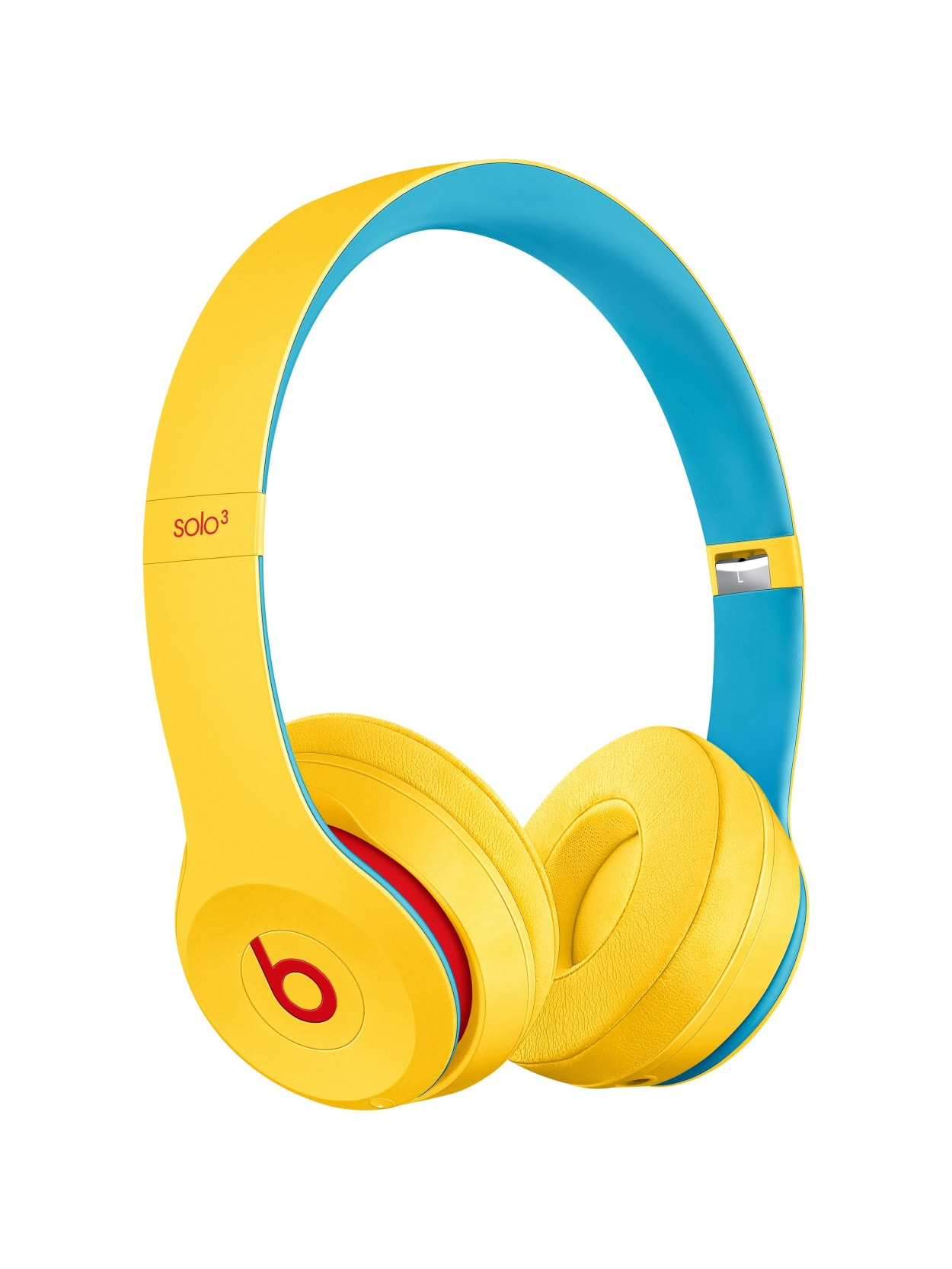 Beats By Dr Dre Solo3 Wireless Headphones Beats Club Collection Club Yellow Stereo Wireless Bluetooth Over The Head Binaural Circumaural Yellow Office Depot