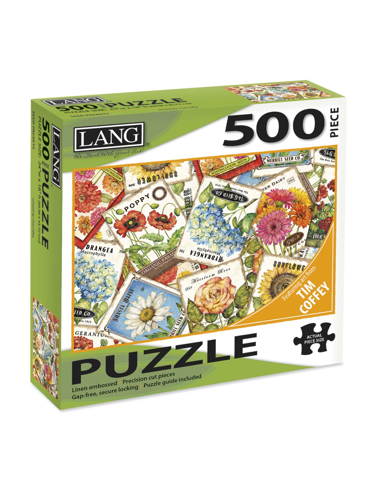 School Supplies 500 Pieces Jigsaw Puzzle