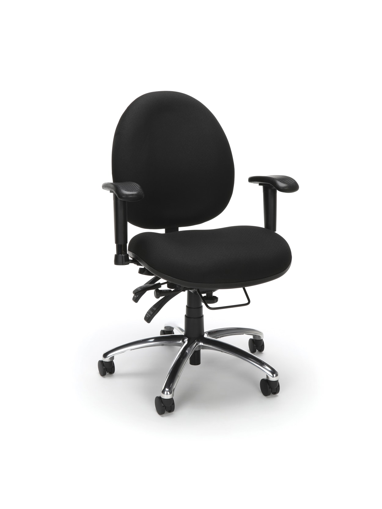 Ofm 247 Series 24 Hour Big And Tall Computer Task Chair Black Office Depot