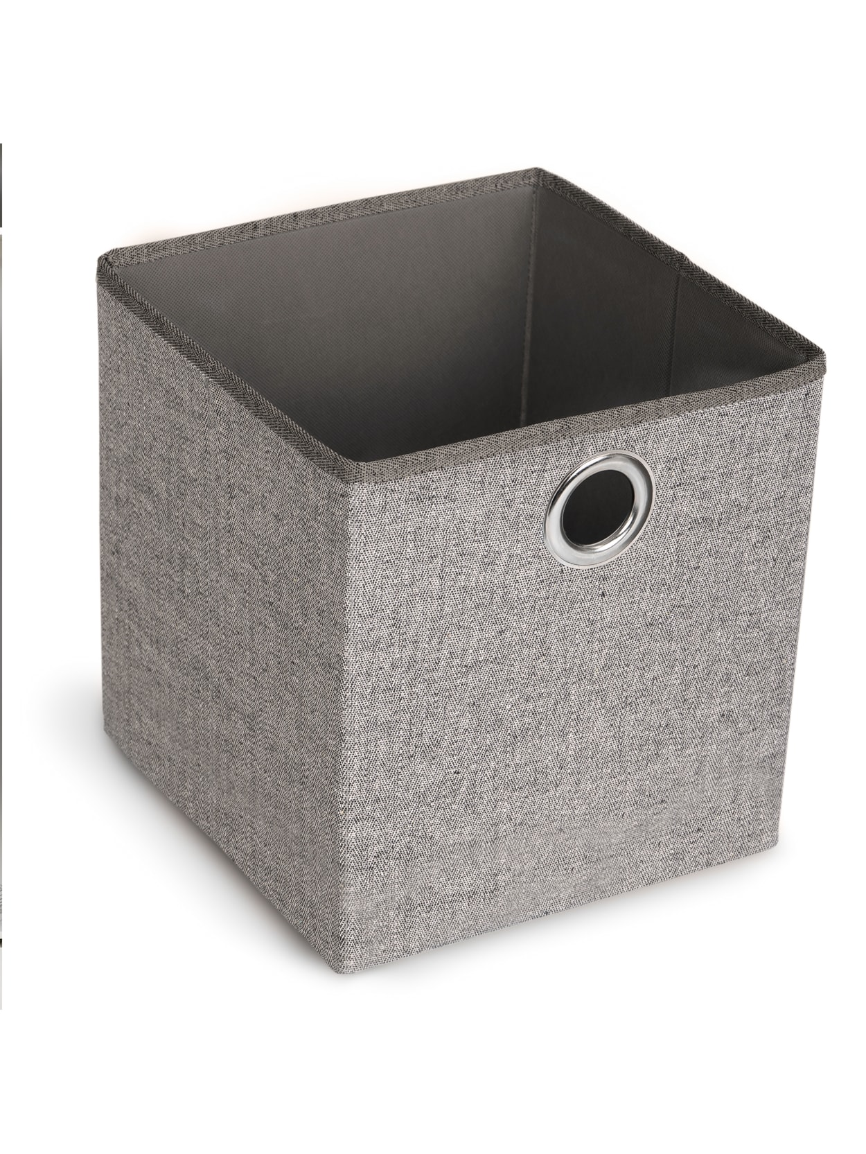 Realspace Collapsible Cube Browndark Grey Office Depot