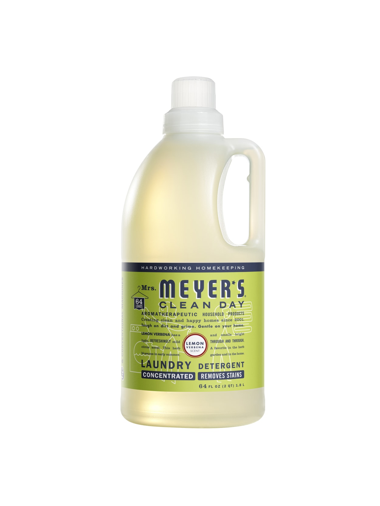 Mrs Meyers Clean Day Lemon Detergent 64 Oz Office Depot