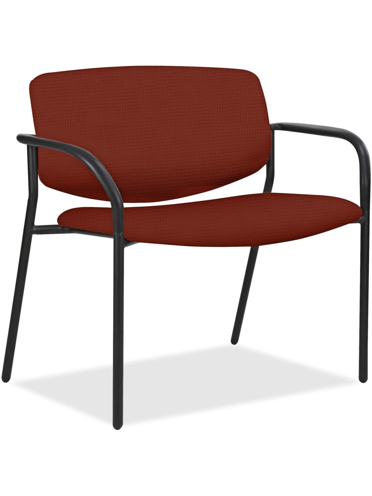 Lorell® Bariatric Guest Chair, Orange Item # 33