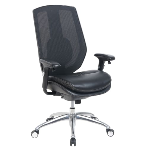 Serta iComfort i5000 Mesh/Bonded Leather High-Back Task Chair