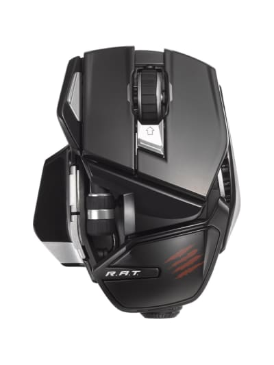 Wireless Mouse PC//Android Mad Catz Office R.A.T Matte Black