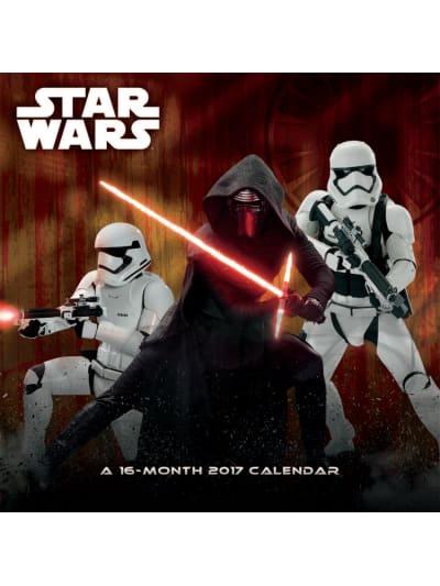 Star Wars 12-Month 2017 Calendar