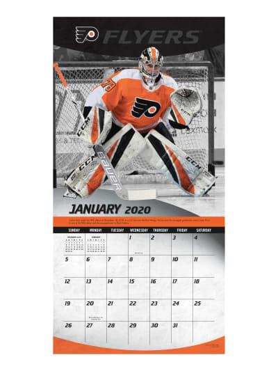 Philadelphia Flyers 2020 Calendar