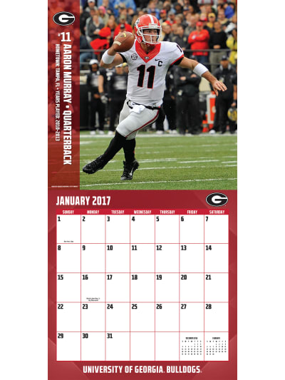 Georgia Bulldogs by Turner Licensing Georgia Bulldogs Wall Calendar