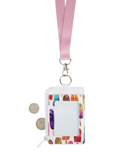 Popsicle ID Badge Reel Badge Holder Summer ID Badge Holder Popsicle Badge Reel Badge Reel