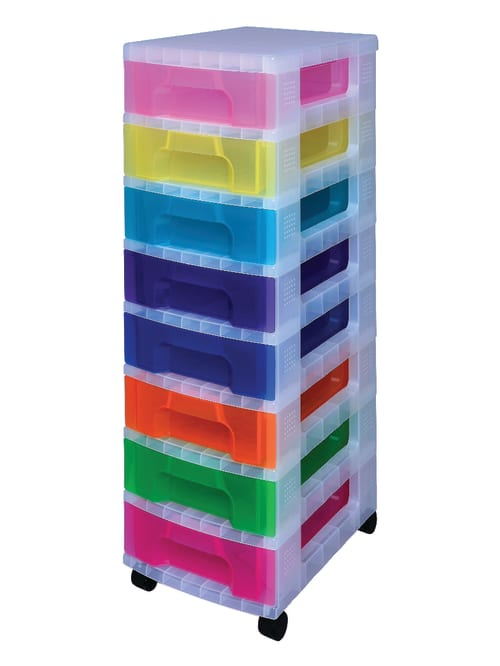 Really Useful Box Tower Drawer Clear