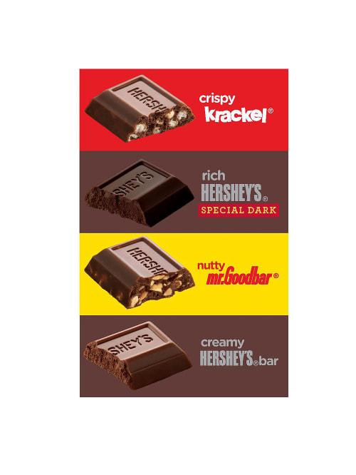 Hershey/'s Special Dark Chocolate Miniatures Candy Bars Bulk