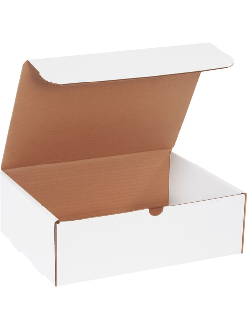 50-11 1//8 x 8 3//4 x 5 White Shipping Mailer Literature Box Packing Boxes