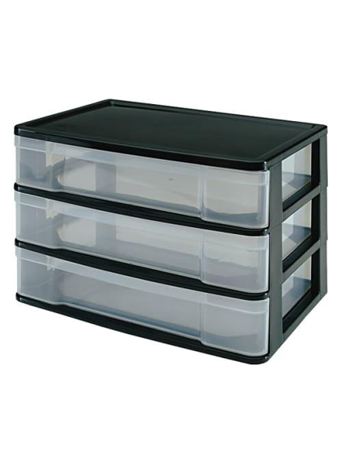 3 Drawer Storage Case 10 38 X 13 716