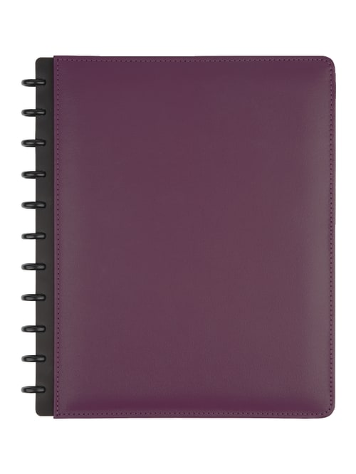 Personalised Notebook and 12 matching Pencils PURPLE Printed with Name