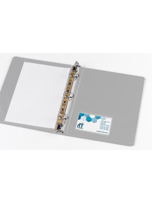 Office Depot Adhesive Card Pockets 20