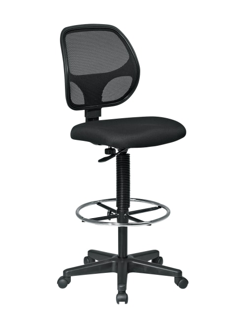 Office Star Deluxe Drafting Chair Black