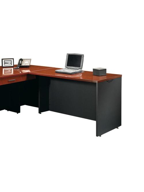 Sauder Via Desk Return Classic, Sauder Office Furniture Via Collection