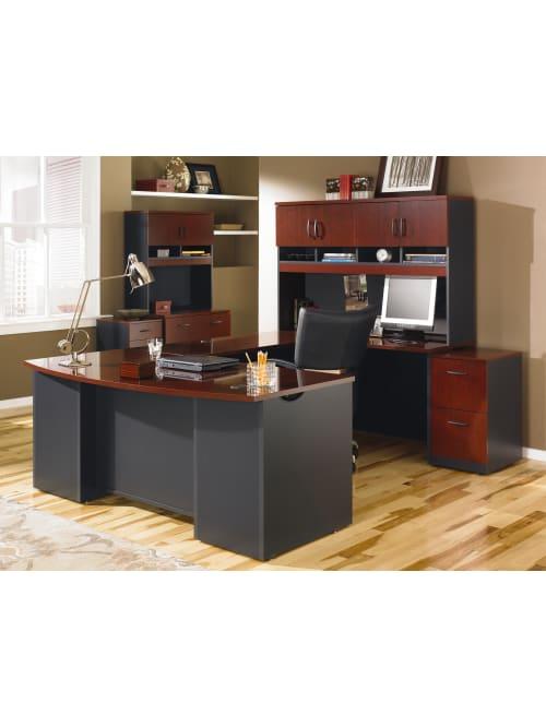 Sauder Via Executive Desk 71 12 W X 35, Sauder Office Furniture Via Collection