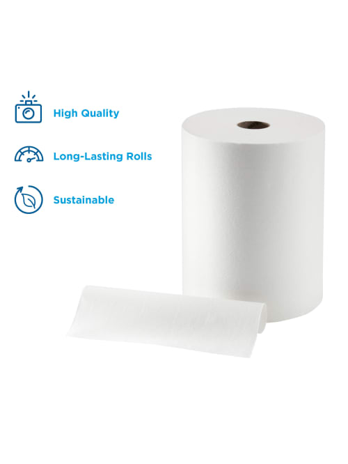60 blue rolls 10 x 6 packs centre feed,paper towel,industrial roll,paper tissue