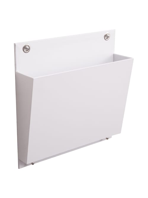 See Jane Work Connecting Wall File Letter Size White Office Depot