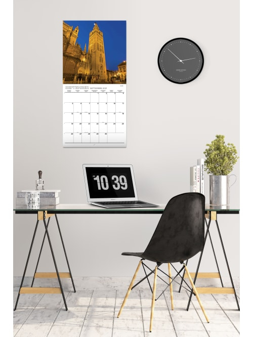 Kalender 2021 f/ür 16 Monate Grupo Erik Wandkalender Japanische Kunst