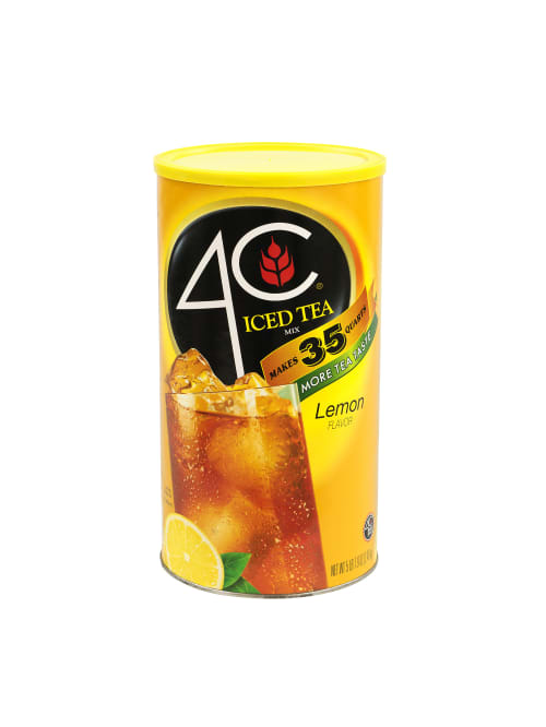 4c Lemon Iced Tea Mix 5 49 Lb Bag Office Depot