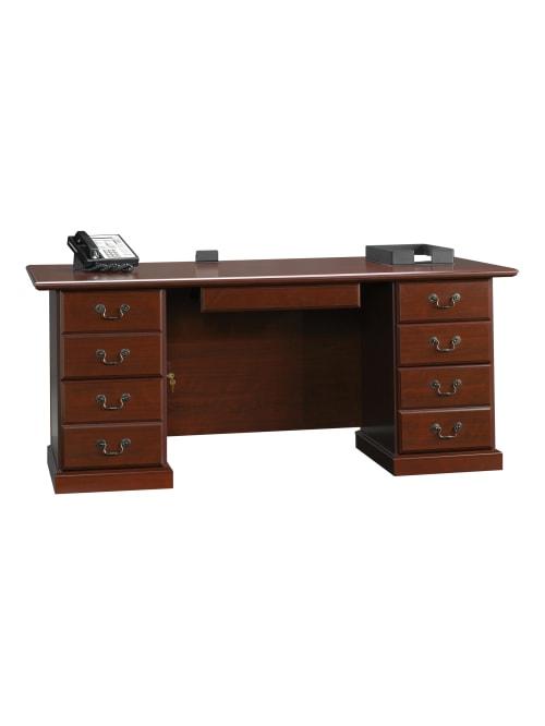 Sauder Heritage Hill 71 W Desk Cherry
