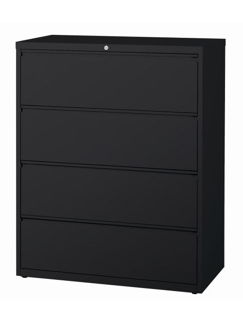 Workpro File 42 W 4 Drawers Black
