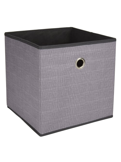 Reale Storage Cube Charcoal