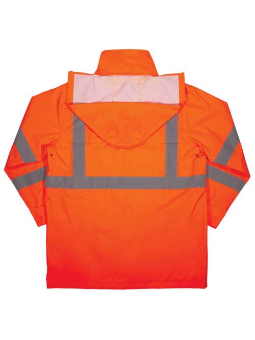 Ergodyne 8366 Jacket 4x Orange Office Depot
