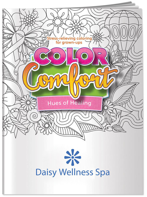Color Comfort Adult Coloring Books - Office Depot