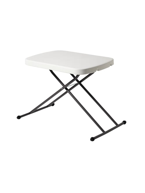 Realspace Personal Folding Table Platinum Office Depot - How To Make A Small Folding Table