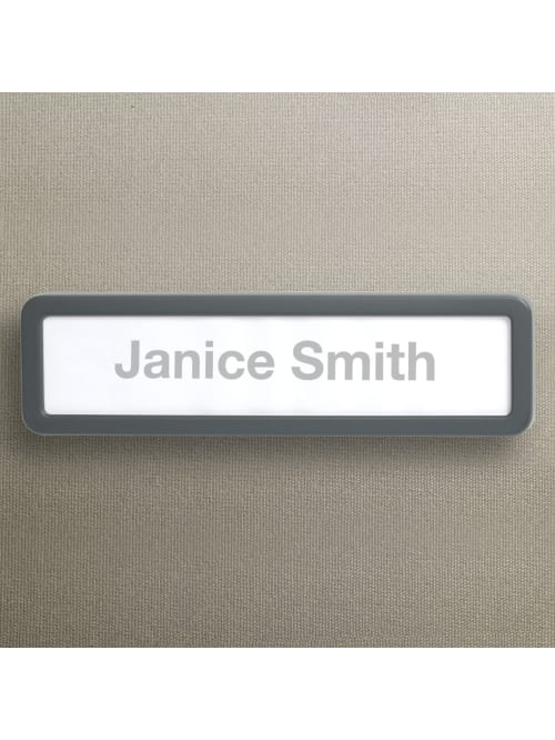 Office Depot Brand Cubicle Name Plate 2