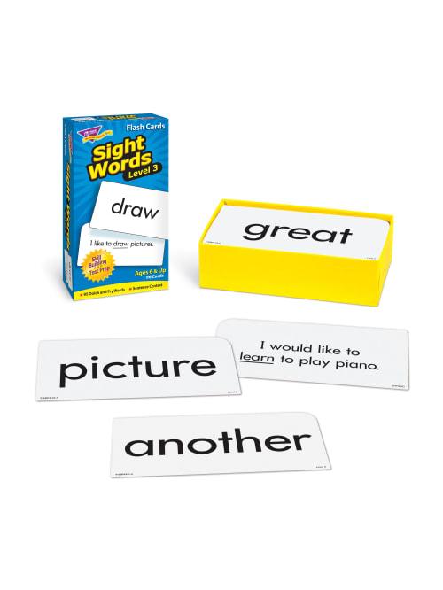 3 x 6 Sight Words Set 3 TREND T53019 Skill Drill Flash Cards