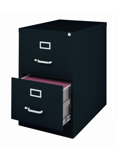 Workpro File 2 Drawer Legal Size Black, File Cabinet 2 Drawer Metal
