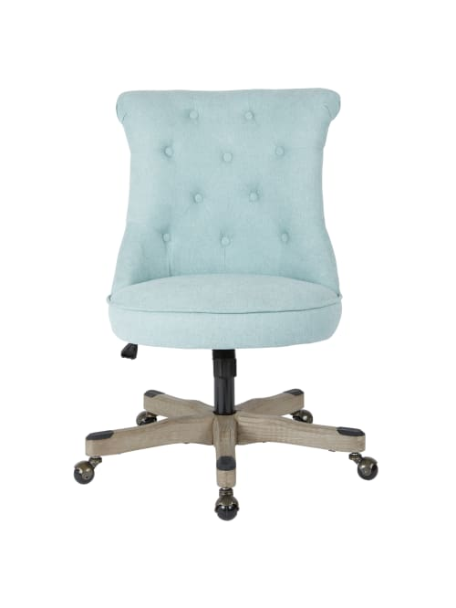 Office Star Hannah Tufted Office Chair Mintgray Office Depot