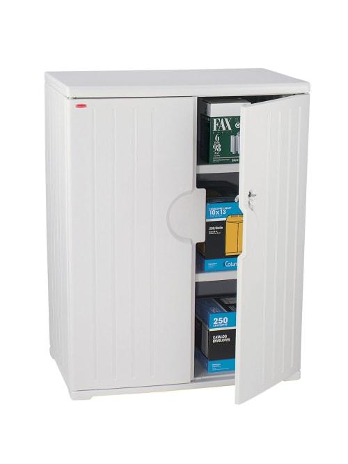 Iceberg Officeworks Storage Cabinet 46 H X 36 W Platinum Office Depot