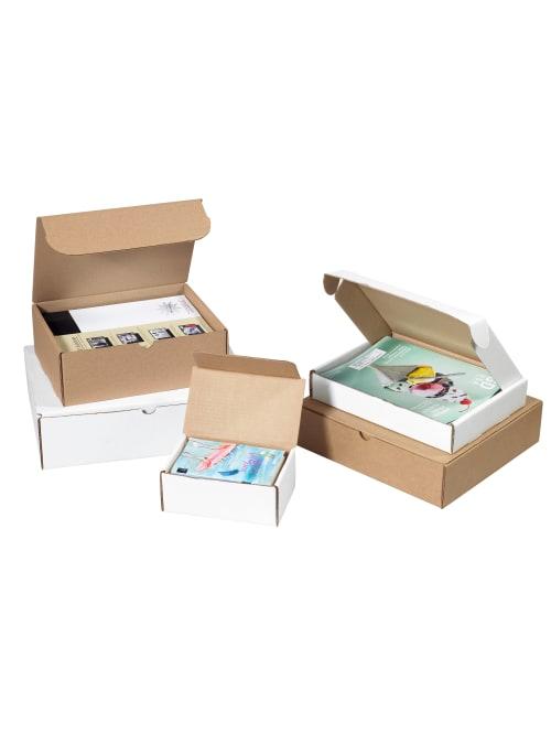 Kraft 50//Bundle Corrugated Mailers 7 1//8 x 5 x 3